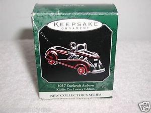 "Hallmark ""1937 Steelcraft Auburn"" Holiday Ornament,Christmas Ornament"