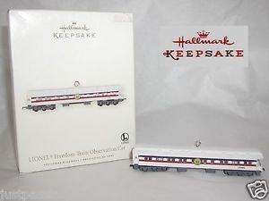 Hallmark Keepsake,Freedom Train Observation Car,Chrismas Ornament,New In Box