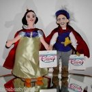 "Disney,""Snow White""and ""Prince Charming"" Plush Beanie Set,New With Tags! @"