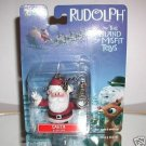 2001 Playing Mantis~Rudolph & The Island Of The Misfit SANTA Clip-on / Ornament