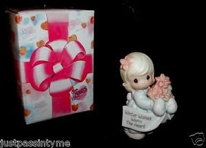 """Precious Moments,Little Moments """"Winter Wishes Warm The Heart"""" Figurine #184241"""