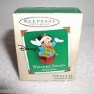"Hallmark"" Mickey Mouse, Welcome Sound "" Holiday Ornament,Christmas Ornament"
