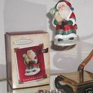 "Hallmark Keepsake, ""Sittin' on Santa's Lap"" Voice Recording Christmas ornament"