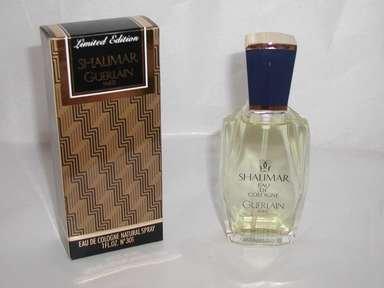 LIMITED EDITION,.SHALIMAR GUERLAIN EAU DE COLONGE  SPRAY,FULL BOTTLE IN BOX