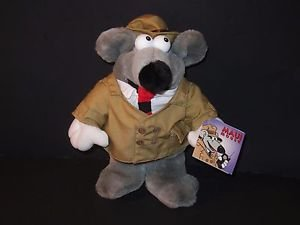 Maui Mouse Detective Plush Animal New Condition All Tags Attached