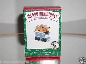 """Hallmark """"Pluto's Coal Car Car"""" Holiday Ornament,Christmas Ornament"""