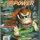 Nintendo Power  Donkey Kong Land,With Boogerman Poster  Volume 74