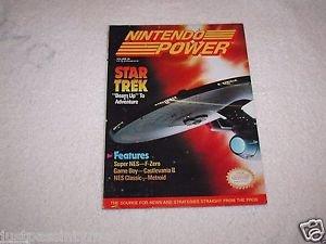 "Nintendo Power, Star Trek""Beam Up"" To Adventure,Vol.29  With Poster Intact"