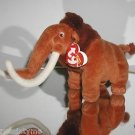 "Ty Ice Age Beanie Baby ""Manny"" the Wooly Mammoth, Collectible Beanie"
