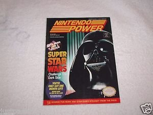 Nintendo Power, Super Star Wars,Vol.42,Batman Returns Poster and Trading Cards