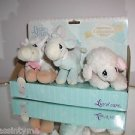 Precious Moments 2000,Limited Edition,Luv N' Care,Boxed Set-3 Plush Animals
