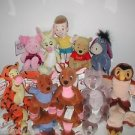RARE SET,10 Piece,Disney Winnie The Pooh,Set,With CHRISTOPHER ROBIN All Tagged