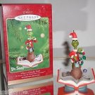 "Hallmark Dr.Seuss ""What a Grinchy Trick!"" Holiday / Christmas ornament"