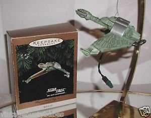 "Hallmark ""Star Trek,Klingon Bird of Prey"" Holiday Ornament,Christmas Ornament"