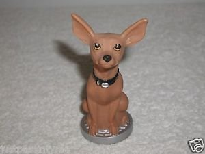 Taco Bell Chihuahua Toy Figure Similar To The Magic 8 Ball Toy