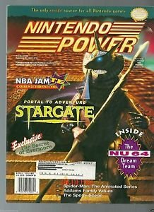 Nintendo Power  Volume 71 With Weapon Lord Poster & Mega Man X Trading Cards