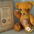 Nisbet Mohair Bully Bear Teddy Bear in original box with Certificate