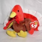 Ty GOBBLES Beanie Baby,Thanksgiving Day Turkey Plush,Soooo Cute!