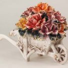 Capodimonte Reproduction Flower Barrel