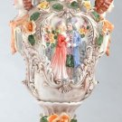 Capodimonte Reproduction Vase w/ Lid