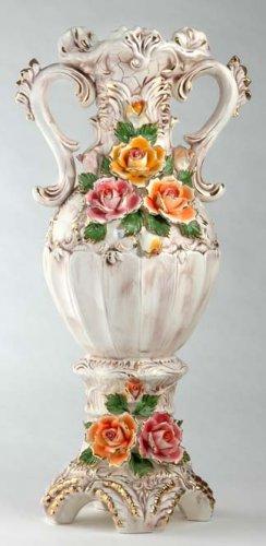 Capodimonte Reproduction Floor Vase
