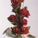 Cevik Vase w/ Rose Flowers