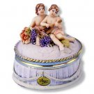 """Berger"" Cherub Powder Box"