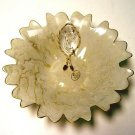 Arte Murano Glass- Silvestri Angel Ruffled Bowl