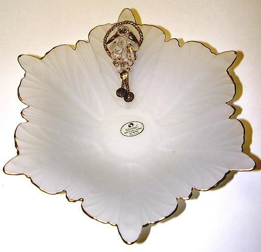 Arte Murano Glass- Silvestri Gold Grape Bowl