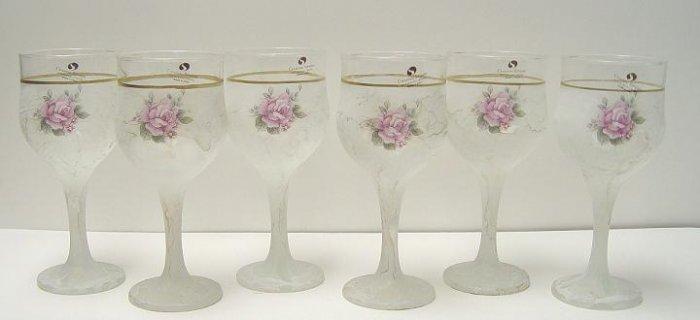 Murano Silvestri 6 Wine Glass Set