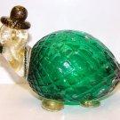 Italian Murano Turtle w/ Hat