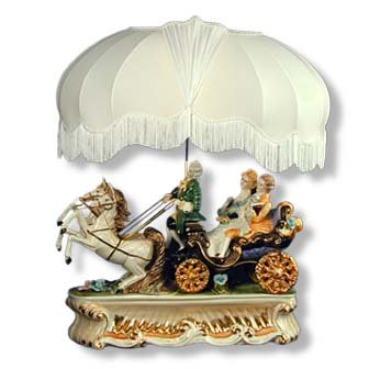 Capodimonte Carriage Lamp