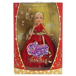 Glimma Girlz Limited Edition Holiday Special Doll