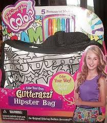 Fashions you Color Glitter City Bag