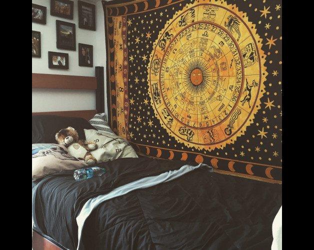 Astrological Celtic Tapestry BOHEMEIN TAPESTRY