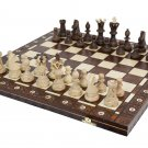 Ambassador Handmade Wooden Chess Set with 21 Inch Board Detailed Chessmen