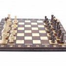 Wegiel Consul Chess Pieces Board European Handmade Wooden Game Chess Set