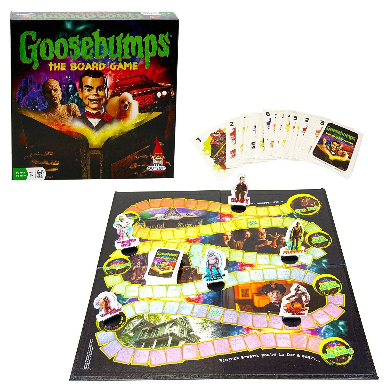 Outset Goosebumps Board Game based on the Goosebumps Movie