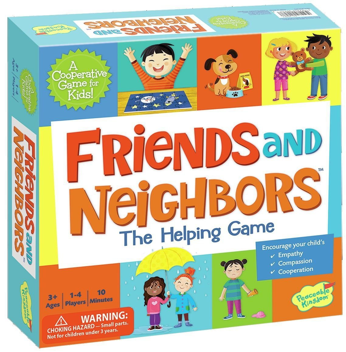 Peaceable Kingdom Friends and Neighbors The Helping Game