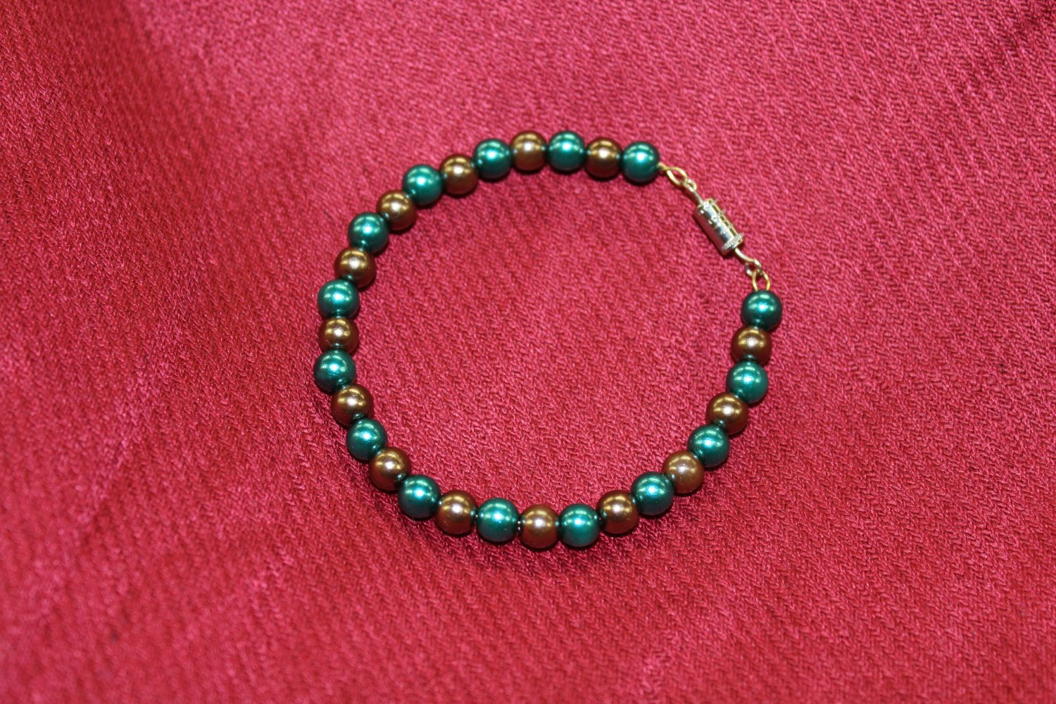 Green and Brown Bracelet