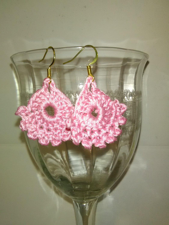Pink Dainty Earrings