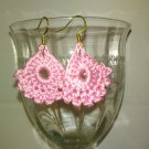Pink Dainty Earrings