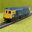 Lima British Rail BR Class 33 D6524 00 Gauge Diesel Locomotive for Model Railway