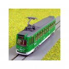 N Gauge Tram in Green and White Livery - Light Rail for Model Railway