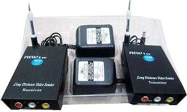 Transmitter & Receiver Kit For Audio/Video