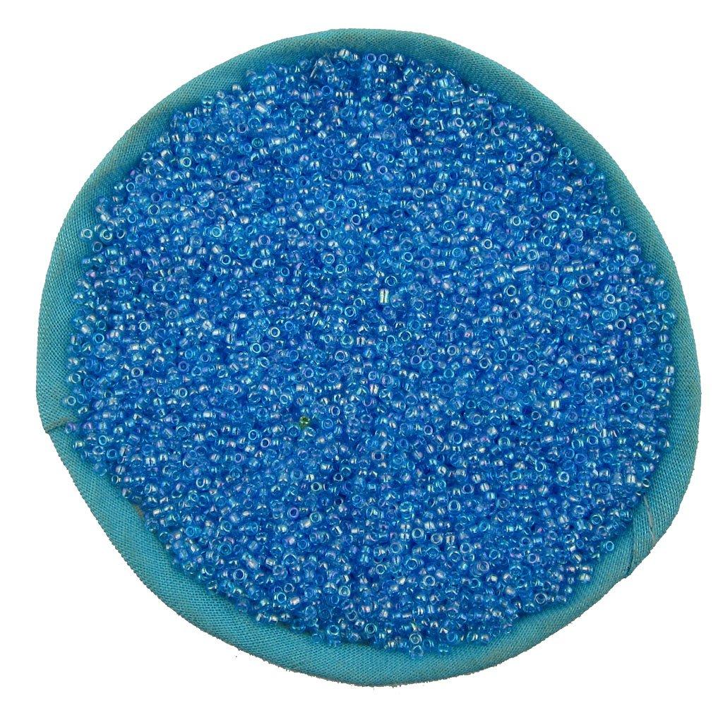 1000 Pcs 2mm Light Blue Czech Glass Seed Spacer beads Jewelry Making DIY