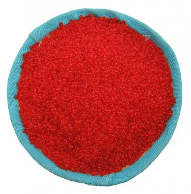 1000 Pcs 2mm Red Czech Glass Seed Spacer beads Jewelry Making Lost Bead