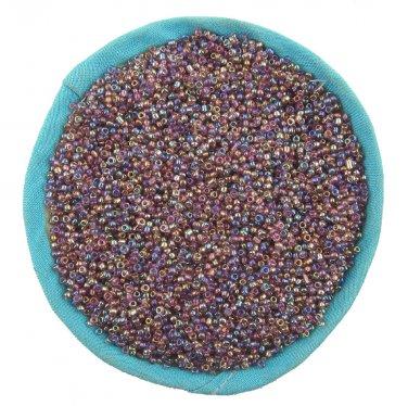 1000 Pcs 2mm Purple Czech Glass Seed Spacer beads Jewelry Making DIY