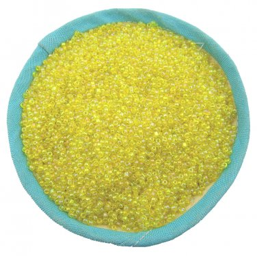 1000 Pcs 2mm Yellow Czech Glass Seed Spacer beads Jewelry Making DIY