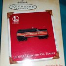 Hallmark Keepsake Ornament - Lionel Daylight Oil Tender - New in Box